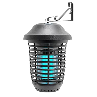 KAPAS Electric Bug Zappers, New Upgrade with Free Hanger 40W Outdoor Pest Control Lantern for Mosquitoes, Flies, Gnats, Pests & Other Insects, 1 Acre Coverage (1 Pack)