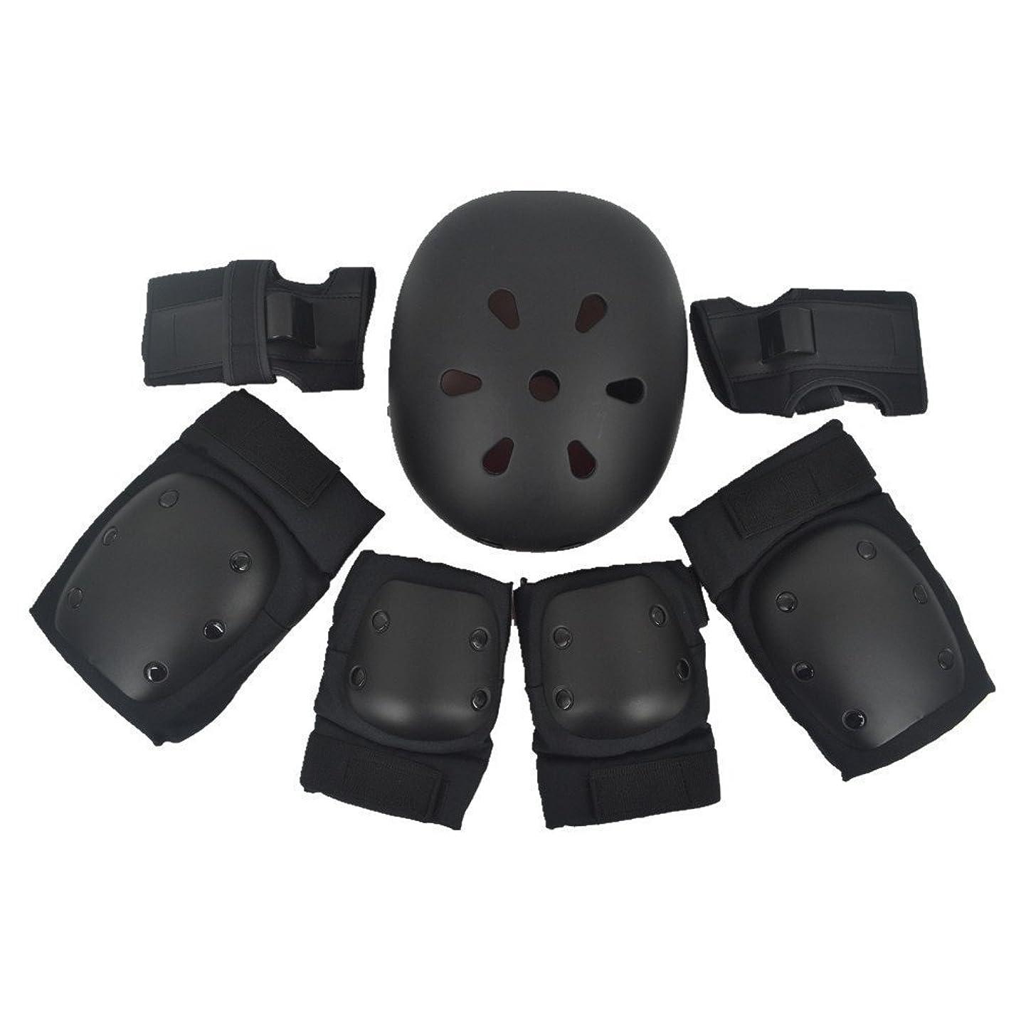 弱めるドロップマリンエクストリームスポーツ スケートボード 頭/肘/腕/膝 プロテクター  保護 自転車 防具 子供用/大人用可能 S/M/Lサイズ