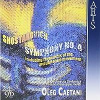 Shostakovich: Symphony No.4, Fragment