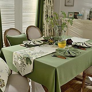 L.L Mesa De Comedor Pastoral Americana Mantel paño de algodón/algodón Dulce pequeño