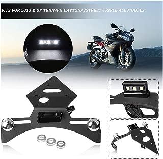 43 Metallic Matte Carbon Gray Ninja 300 ABS Undertail w//Built in LED Signals 2016 Hotbodies Racing 51303-1105 KAW