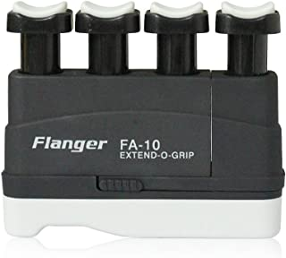 Hand Finger Master Exerciser Strengthener for Guitar Piano or Therapy, Tensions from 3,5,7 lbs, Great Gift for Guitar Beginner Hand Exerciser Finger Strengthener Trainer, FA-10, Black - 7 lbs