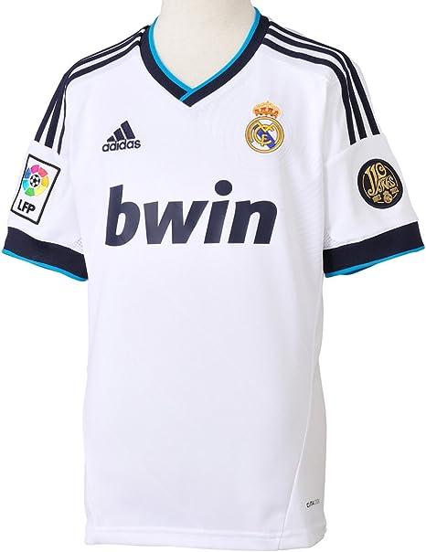 Adidas Real Madrid CF - Camiseta de fútbol infantil, 2012-13