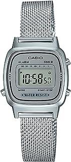 comprar comparacion Reloj Digital de Cuarzo Casio para Mujer con Correa de Acero Inoxidable Macizo.
