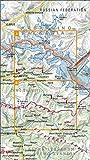 Georgien Trekking map 9: Mestia, Ushguli, Lashkheti, Murkmeli, Chukuli, Choluri, Mulakhi, Lakhziri Gletscher, Tsaneri Gletscher, Mt. Tetnuldi, Katintau, Georgien ( Kaukasus Grenze zu Russland bzw. Kabardino Balkarien) topographische Wanderkarte 1:50.000, Geoland Maps
