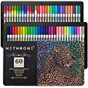 Hethrone 60 Color Gel Pens for Adult Coloring Books