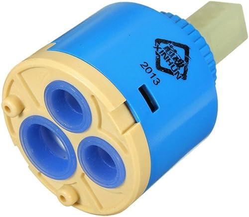 Forest Dream Lot de 2 cartouches filtrantes en céramique pour mitigeur de robinet 40 mm