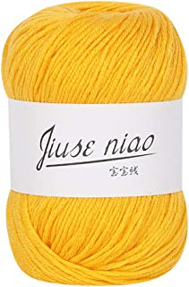 Clearance Sale ! Milk Cotton Wool, NEARTIME 1PC 50g Chunky Colorful Hand Knitting Baby Crochet Knitwear Yarn