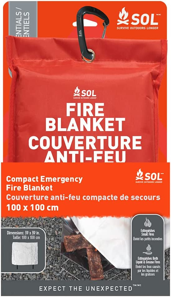 Limited price sale SOL Emergency Fire Blanket Compact 2 of - Choice Pack