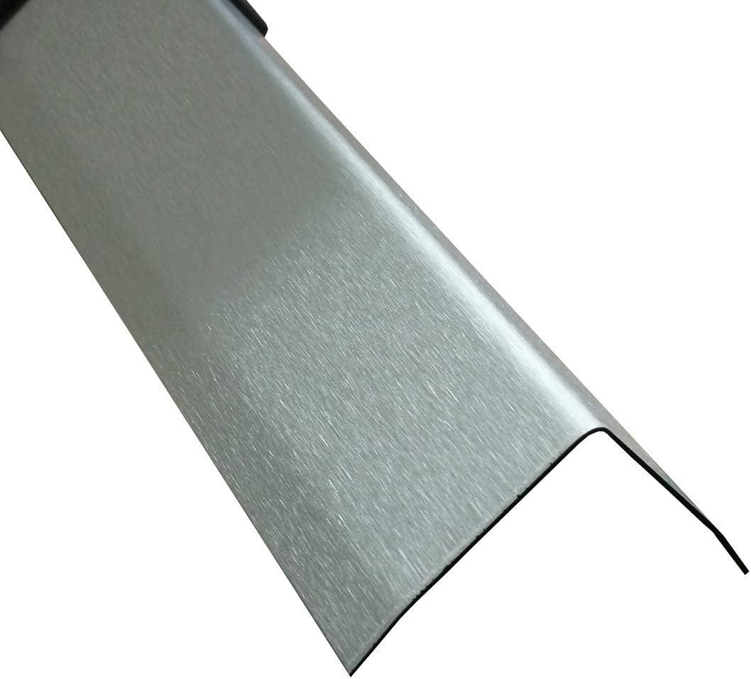 Eckschutz-Profil Edelstahl rostfrei Eckleiste 32 x 32 mm Putzprofile Kantenschutz-Winkel