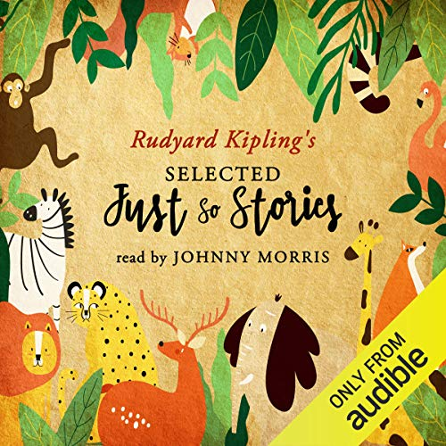 Selected Just So Stories audiobook cover art