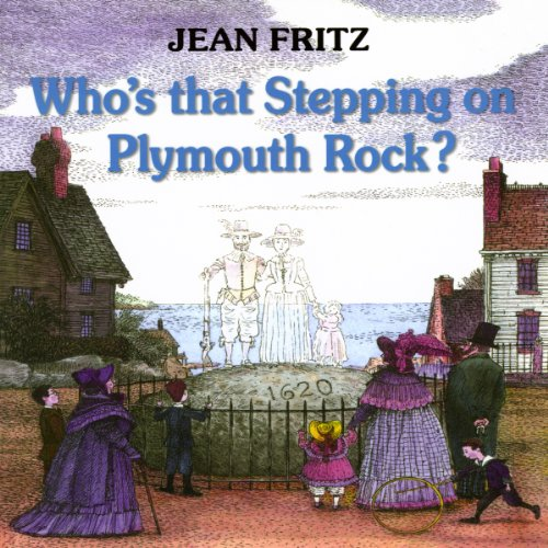 Who's That Stepping on Plymouth Rock audiobook cover art