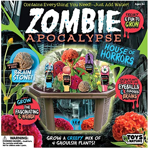 Toys By Nature Create Your Own Zombie Apocalypse - Complete Kids Terrarium Kit...
