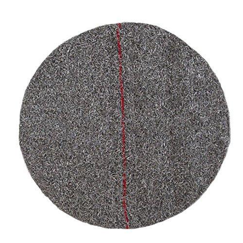 Disco rojo de abrillantado y cristalizado 17'/43cm. De abrasividad media es especial para abrillantar y cristalizar suelos comunes en viviendas y comunidades de vecinos
