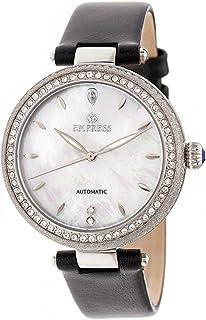 Empress - Louise Mother-Of-Pearl - Reloj de pulsera (piel), color plateado