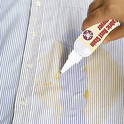 URFEDA Removedor de óxido de ropa Quitamanchas para textiles 50ml Producto enzimático natural Desinfectante de ropa Limpiador De Manchas De Sangre para toda clase de tejidos