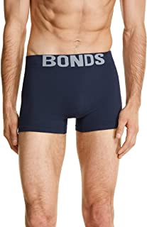 Bonds Men's Underwear Cotton Blend Seamfree Trunk