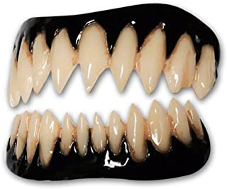 Black Pennywise FX Fangs 2.0 Evil Teeth Dental Veneer