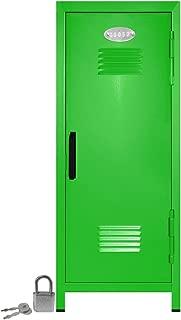 Mini Locker with Lock and Key Lime -10.75