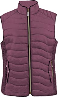 TanBridge Womens Vest Lightweight Quilted Packable Down Puffer Water-resitant Padded Vest