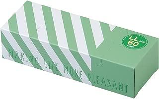 驚異の防臭袋 BOS (ボス) ★ストライプパッケージ/透明グリーン★LLサイズ60枚入 大人用 おむつ ・ ペットシーツ ・ 生ゴミ などの処理に/災害時 臭い 対策に