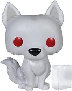 Game of Thrones: Ghost - Dire Wolf Funko Pop! Vinyl Figure (Includes Compatible Pop Box Protector Case)