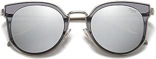 Fashion Polarized Sunglasses for Women UV400 Mirrored Lens SJ1057