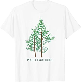 TIANLANGHB Save Protect Trees Stop Deforestation Hugger Earth T-Shirt