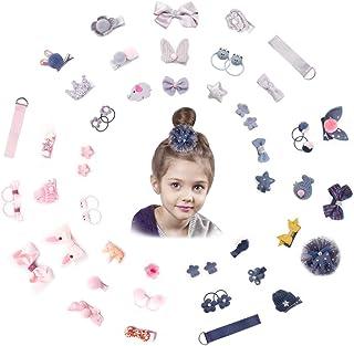 Acco Pally Baby Girls' Hair Accessories Gift Hair Bows Hair Clips Set
