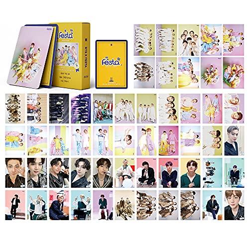 Kpop BTS Lomo Tarjetas 54 unidades, BTS Festa Album Cards BTS Festa Fotokartens...