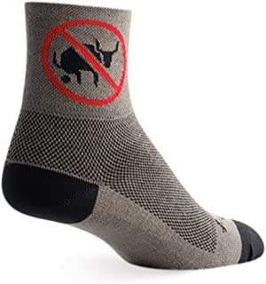 SockGuy, No BS, Classic Sock, Sporty and Stylish, 3 Inches - Small/Medium