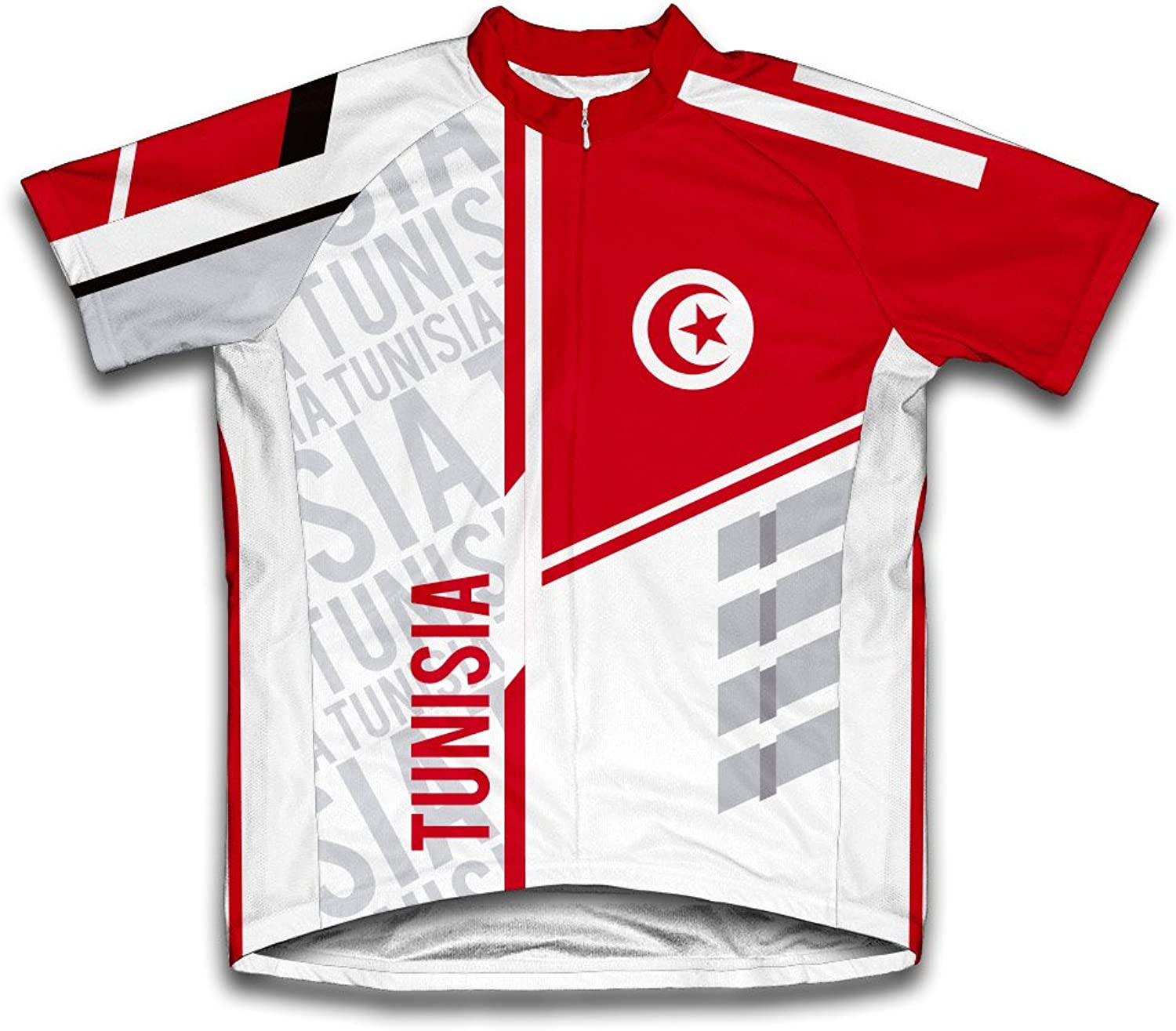 Tunisia ScudoPro Short Sleeve Cycling Jersey for Women