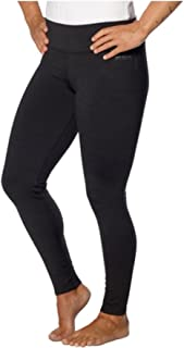 Andrew Marc Marc New York Womens Athletic Thick Ankle Length Legging (Small, Black Melange)