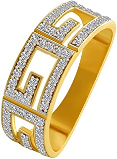 P.C. Chandra Jewellers 10KT Yellow Gold Ring for Men