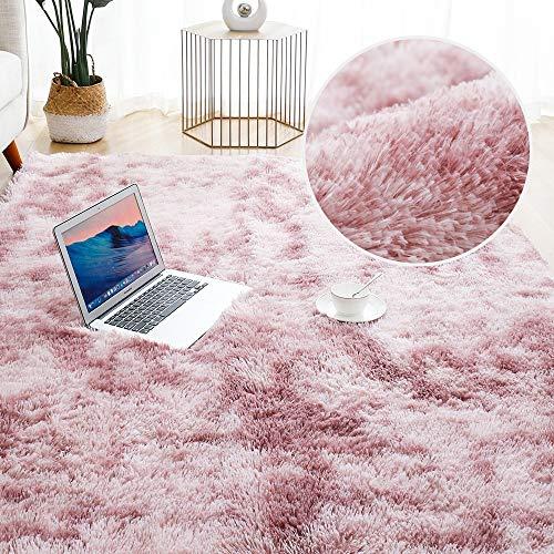 HKYhomede Thick Carpet for Living Room Plush Rug Children Bed Room Fluffy Floor Carpets Window Bedside Home Decor Rugs Soft Velvet Mat