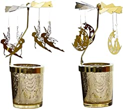 Blesiya 2 Styles Creative Antique Metal Candlestick Wedding Party Decors Candle Holder