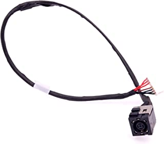 Deal4GO DC Power Jack Harness Cable Charging Port Replacement for Dell Inspiron 15 7000 7557 7559 5577 5576 Y44M8 0Y44M8 DD0AM9AD000