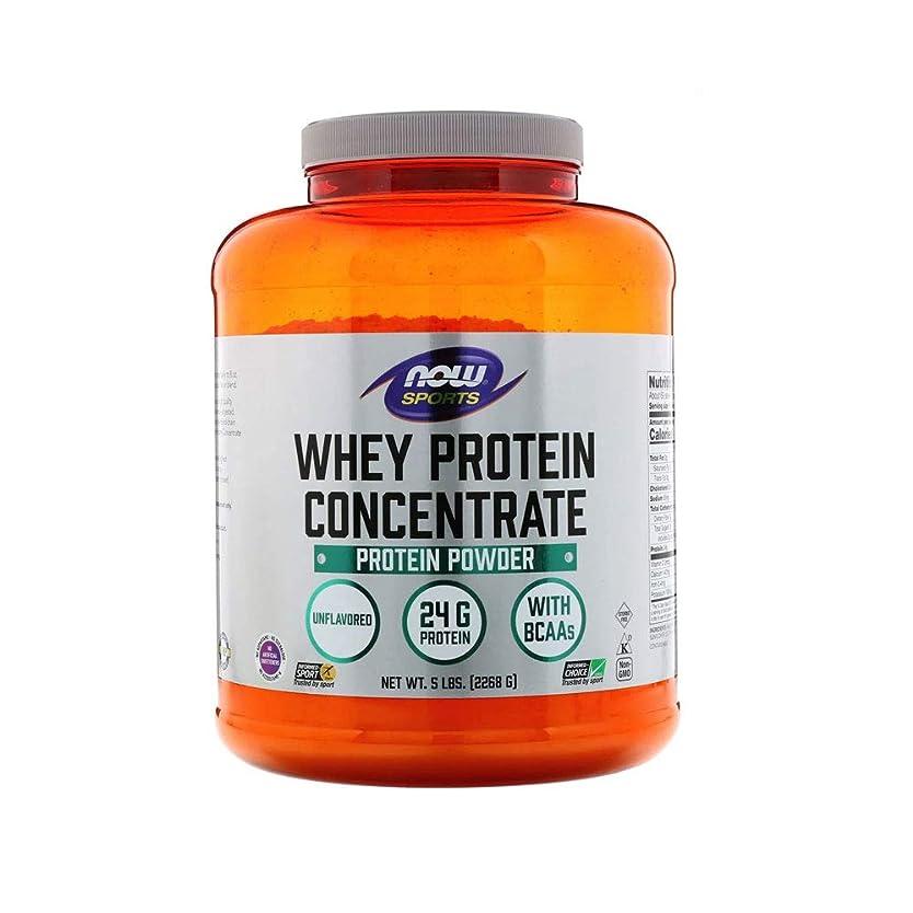 護衛医療過誤政令[海外直送品] ナウフーズ  Whey Protein Concentrate Natural Unflavored 5 lbs (2268 g)