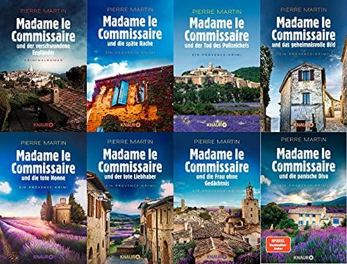Madame le Commissaire Band 1-8 plus 1 exklusives Postkartenset