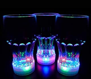 Set of 3 Color Changing Liquid Activated Drinking Cups Glasses