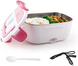 TK Star 711035 Boîte à repas thermique électrique avec chauffe-plat en acier inoxydable, 12 V ONE SIZE rose