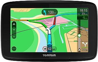 TomTom VIA 53, GPS Navegación con pantalla táctil de 5 pulgadas, mapa de 48 países, planifica rutas inteligentes que te ayudan a escapar del tráfico en tiempo real, color negro