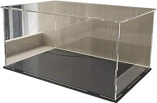 LM-Coat rack XINGLL Vitrine Acrylique Voiture, Cube Transparent Anti-poussière, Boîte Rangement pour Maison Musée, pour Fi...