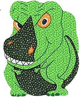 "Baby Quilt Patterns, by Kiddie Komfies, Dinosaur Patchwork Quilt Pattern Boy Girl Quilt Kits Easy 54"" x 42"""