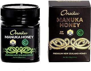 Onuku Premium New Zealand UMF 25+/MGO 1200+ (250G) Authentic Manuka Honey   100% Pure Mineral Rich Properties Non GMO Unpa...
