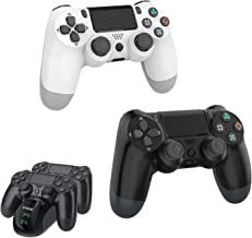 Wireless Controller for PS4, YAEYE 1000mAh PS4 Gamepad Joystick for Playstation 4/Pro/Slim Console with Dual Vibration Blu...