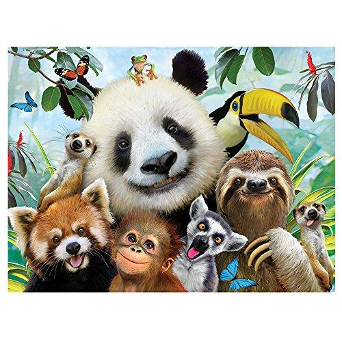 Howard Robinson HR28555 Selfie Zoo Super 3D Children's Wall Poster
