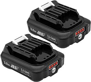 マキタ BL1015B 互換バッテリー 10.8V 3000mAh マキタ 残量表示 互換 bl1050 bl1060b bl1040b交換対応 リチウムイオン電池 CL107FDZW 充電式クリーナ 充電式ファン CF101DZ 10.8Vマ...
