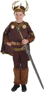 Fun Shack Marrón Vikingo Deluxe Disfraz para Niños - L