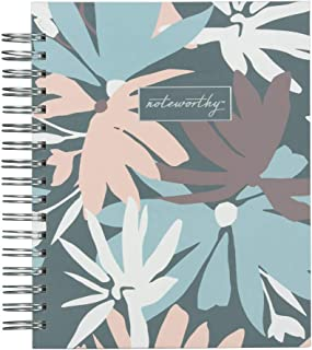 Blue Sky Noteworthy 2019-2020 Academic Year Daily & Monthly Planner, Hardcover, Silver-Tone Twin-Wire Binding, 7